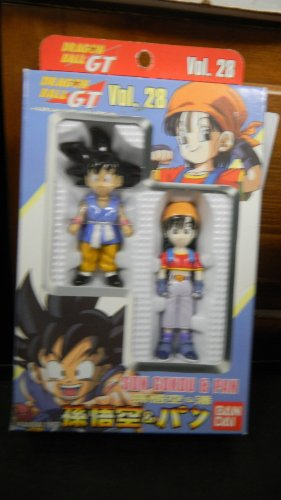 Dragon Ball GT Vol. 28 Super Battle Collection Son Gokou & Pan (Dragonball Pan compare prices)