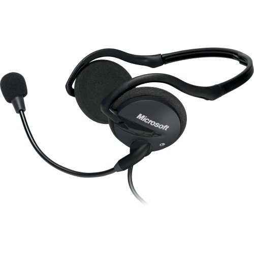 """Microsoft Lifechat Lx. 2000 Headset . Stereo . Mini. Phone . Wired . Behind. The. Neck . Binaural . Circumaural . 8 Ft Cable . Noise Cancelling Microphone """"Product Type: Audio Electronics/Headsets/Earsets"""""""