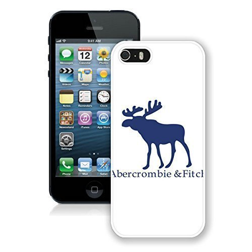 Abercrombie and Fitch White iPhone 5s Phone Case Genuine Custom Cover