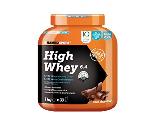 High Whey 6.4 - Named - Proteine del siero del latte isolate e concentrate (60-40%) (Gusto: CIOCCOLATO)