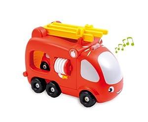 Jouet d'Eveil - Mini Véhicule - Vroom Planet Camion Pompier - Electro
