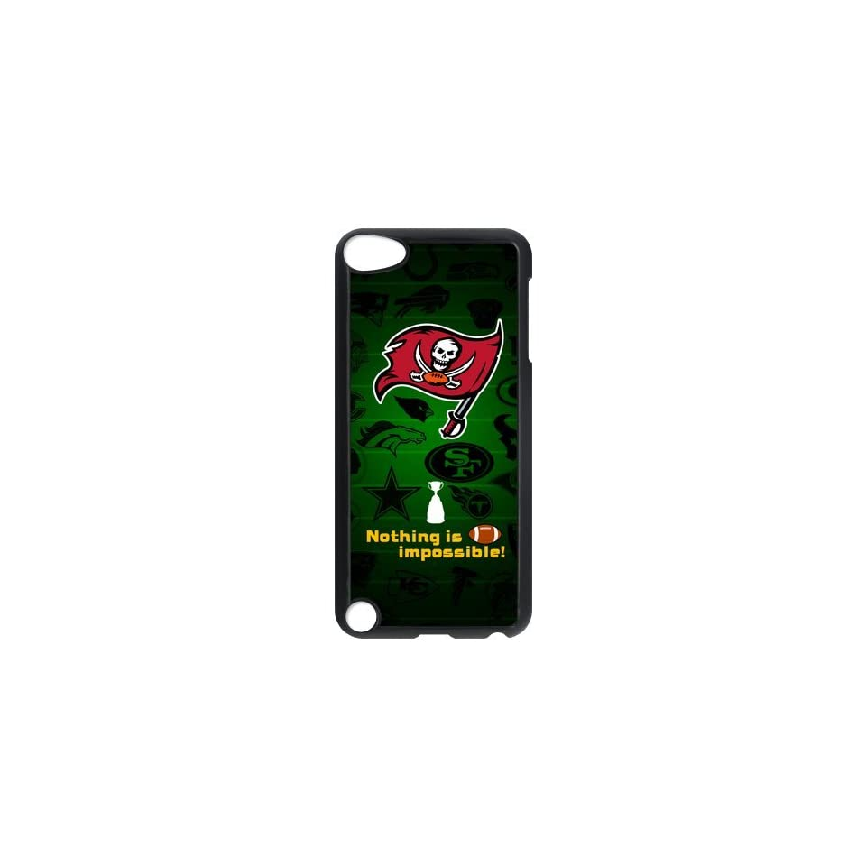 Custom Your Own NFL Tampa Bay Buccaneers Ipod Touch 5th Cases made of PC plastic Buccaneers logo   Players & Accessories