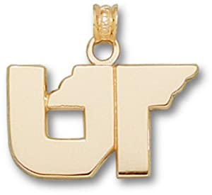 Tennessee Volunteers UT Pendant - 14KT Gold Jewelry by Logo Art