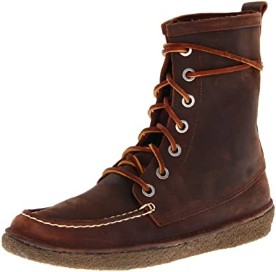 SeaVees Men's 7 Eye Trail Boot, Walnut, 7 M US