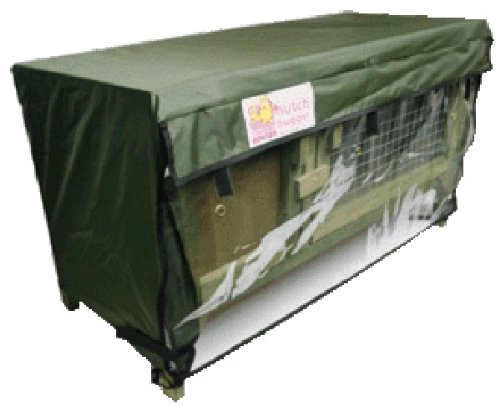 Scratch and Newton Thistle Hall Rabbit Hutch Cover - Cage Hugger, Waterproof