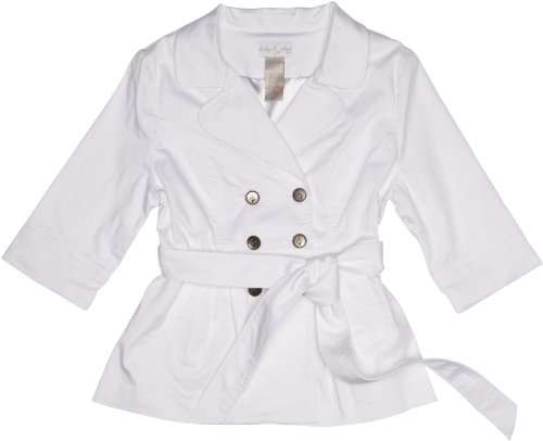 Baby Phat 3/4 Sleeve Peplum Trench Women's Coat