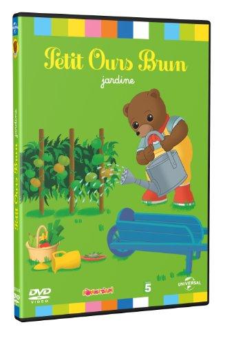 Petit ours Brun jardine