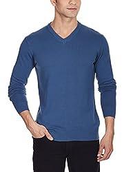 Quiksilver Men's Cotton Sweater (888256882751_EQYSW03040_XL_Dark Denim)