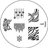 Konad Nail Art Image Plate M69 [Misc.]