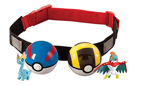 Pokemon - Cintura Clip 'N' Carry Poke Ball, Modelli assortiti