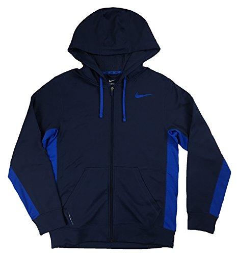 Nike Mens Ko Full-zip Hoodie 2.0 (Large, Midnight Navy) (Nike Ko Full Zip Hoodie compare prices)