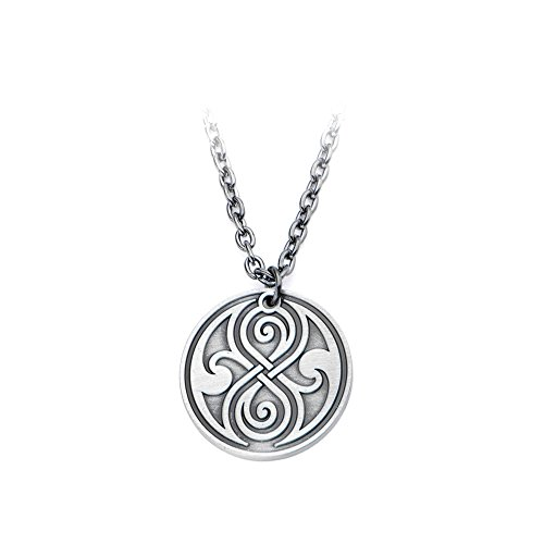 Doctor Who Seal Of Rassilon Stainless Steel Necklace