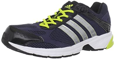 adidas Men's Duramo 4 M Running Shoe,Urban Sky/Matte Silver/Lab Lime,11 M US