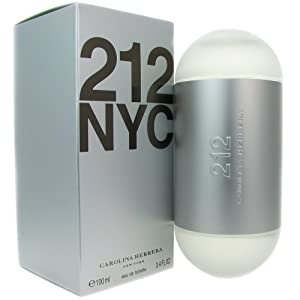 212 NYC by Caroline Herrera For Women. Eau De Toilette Spray 3.4-Ounce Bottle