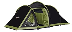 Vango Venture 450 Three Poled Tunnel Tent - Black, 4 Person
