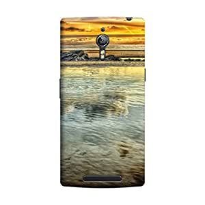 CaseLite Premium Printed Mobile Back Case Cover With Full protection For Oppo Find 7 (Designer Case)