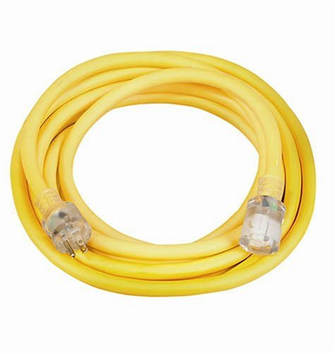 Coleman Cable 02687 10 3 Vinyl Outdoor Extension Cord With