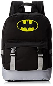 Batman Men's Rucksack Backpack with Distressed Screen Print at Gotham City Store