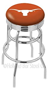University of Texas Longhorns Retro Swivel Bar Stool Barstools by Holland Bar Stool Company
