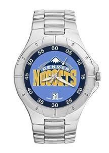 Denver Nuggets Mens Pro II Watch by Logo Art