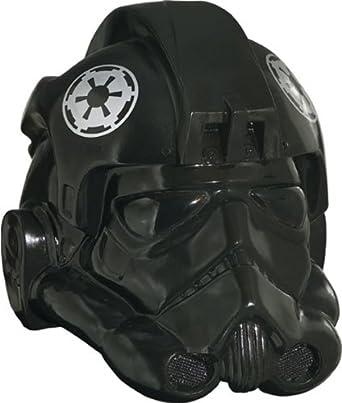 Rubie's Costume Men's Star Wars Collectors Edition Fighter Helmet, Black, One Size