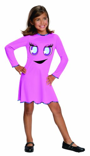 Pac-Man & The Ghostly Adventures Pinky Costume Dress Child Large