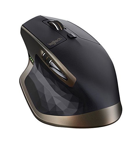 Logitech MX Master Mouse Wireless per Windows e Mac con Bluetooth e Unifying, Nero