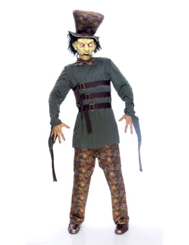 Wicked Wonderland Mad Hatter S Adult Mens Costume