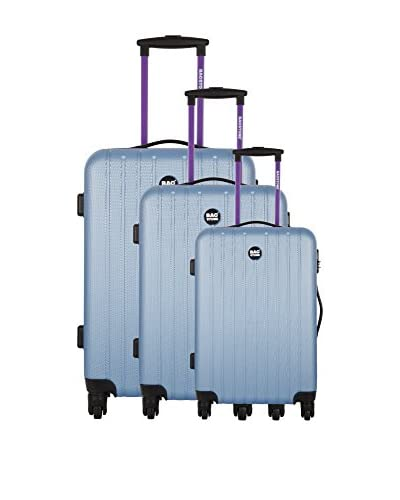 BAGSTONE Set de 3 trolleys rígidos Magic 0 cm