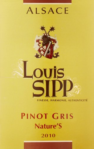 2010 Louis Sipp Nature'S Pinot Gris 750 Ml