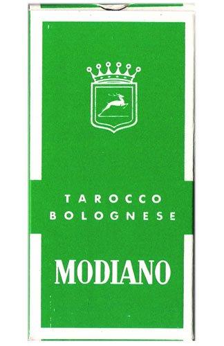 Bologna Style Tarot Deck by Modiano - Tarocco Bolognese