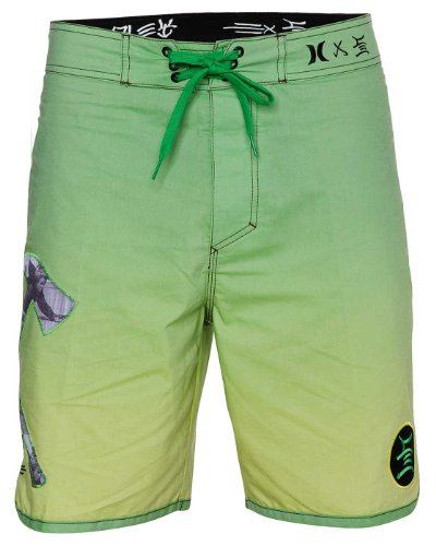 Hurley - Mens Stecyk Boardshorts, Size: 30, Color: Direct Grn