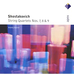 Shostakovich : String Quartet No.8 in C minor Op.110 : IV Largo