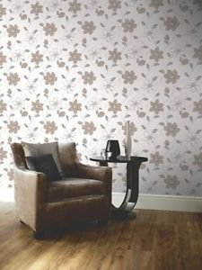 Anouska Wallpaper - Taupe by New A-Brend