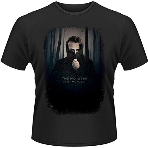 Plastic Head Penny Dreadful Monster In My Soul-T-shirt  Uomo, Negro (Schwarz - Schwarz), X-Large