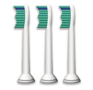 Philips Sonicare HX6013 Proresults Brush Head, Standard, 3 Pack