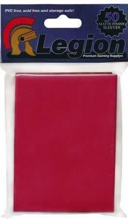 Matte Red Sleeeves (50) - 1