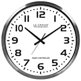 La Crosse Technology 404-1220 20 inch Extra Large Atomic Wall Clock