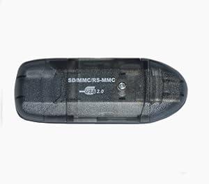 SD SDHC MMC Memory Card Reader USB 2.0 for 256MB, 512MB, 1GB, 2GB, 4GB, 8GB, 16GB Memory Cards!