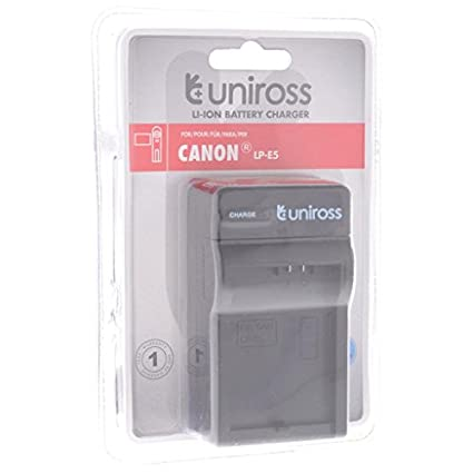 Uniross Battery Charger (For Canon LP-E5)
