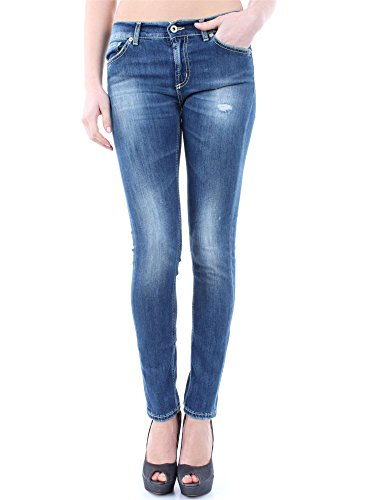 DONDUP TARA DS146D L27 DENIM MEDIO JEANS Donna DENIM MEDIO 26