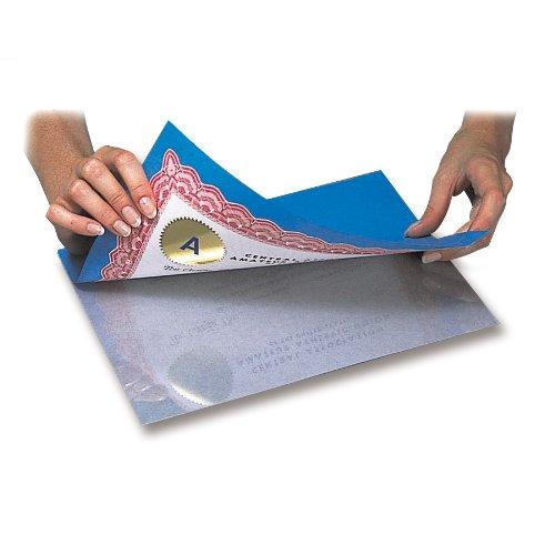 C-Line Heavyweight Cleer Adheer Laminating Film Sheets, Clear, 9 x 12 Inches, 50 per Box (65001)