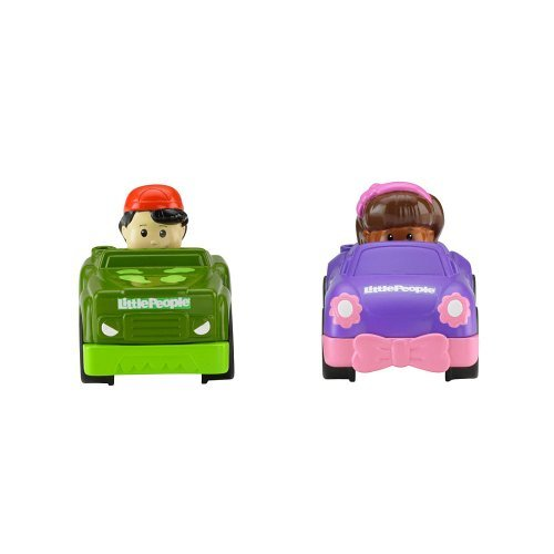 Fisher-Price Little People Wheelies Mia and Koby 2-Pack - 1