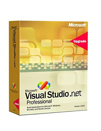 Microsoft Visual Studio .NET Professional Edition 2003 Upgrade [Old Version]