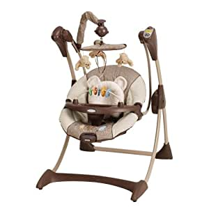 Graco Silhouette Swing, Classic Pooh (Discontinued by Manufacturer)