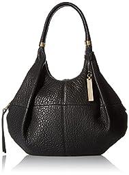 Vince Camuto Marlo Medium Hobo Bag, Black, One Size
