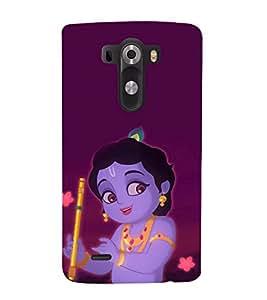 printtech Cute Lord God Krisnhna Back Case Cover for LG G3::LG G3 D855