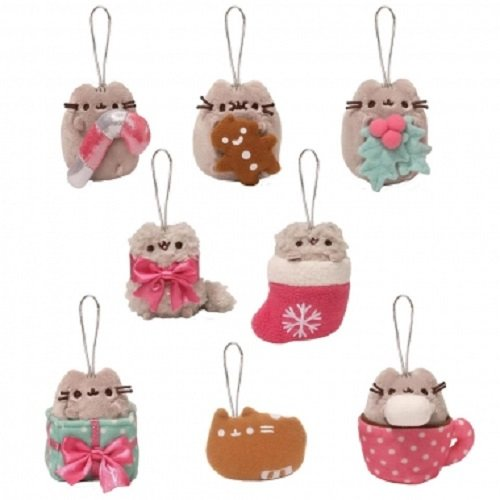 Gund Pusheen Blind Box Series #2 Surprise Plush Holiday Ornaments