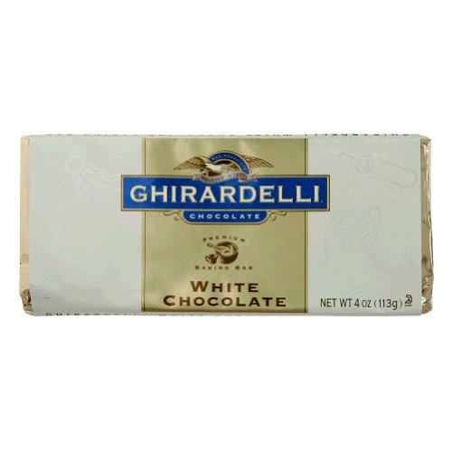 Ghirardelli, Chocolate Baking Bar White, 4-Ounce 