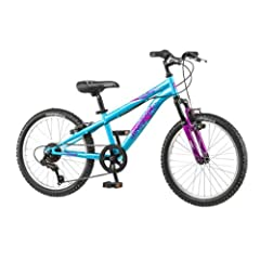 20 Mongoose Girls BMX Mountain Bike Hybrid With Aluminum Frame and Suspension, in... by Mongoose